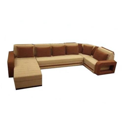 c shaped sofa designs velvet blue uk wooden shape set rs 48000 guru nanak furniture id