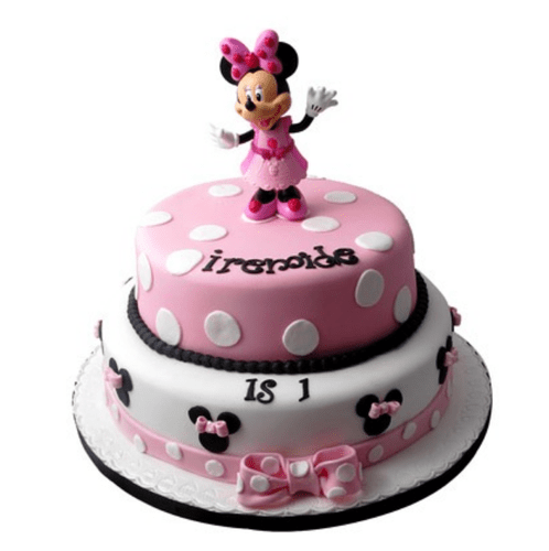 Minnie Mouse Birthday Cake 3 Kg At Rs 4899 Kilogram Theme Cake