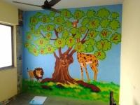 Wall Painting For School - 4.000 Wall Paint Ideas