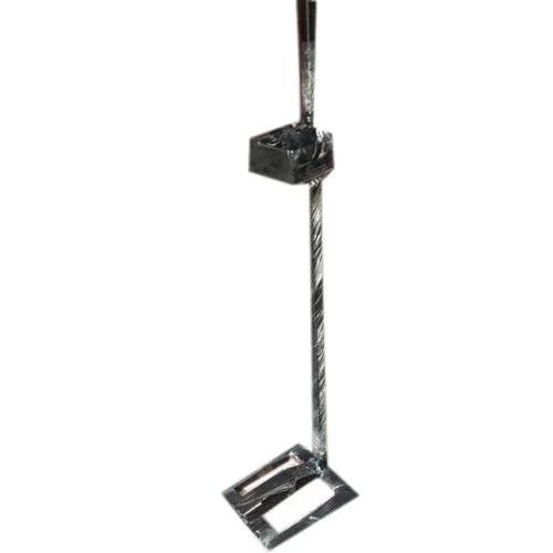 Mild Steel Floor Mounted Foot Operated Sanitizer Dispenser