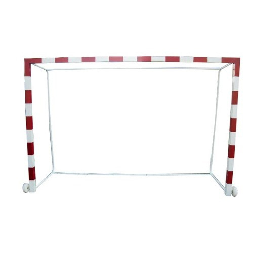 Red & White Handball Goal Post, Size: 3 M X 2 M X 1 M, Rs