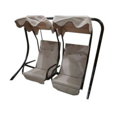 Steel Chair Jhula Swivel Round Base Indoor And Outdoor Standing Ander Wala इ ड र