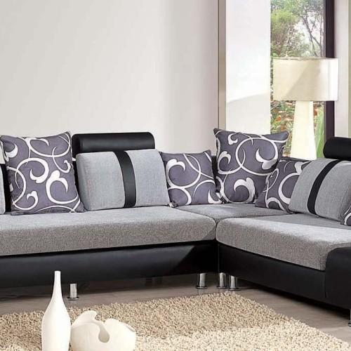 sofa set living room rooms black leather couch furniture sets ब ठक क