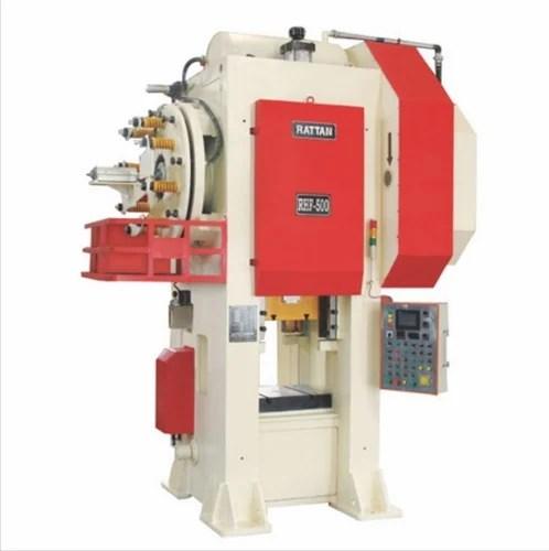 automatic rattan hydraulic forging