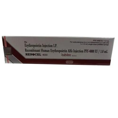 Intas Erythropoietin Injection IP 1x1.0 Ml Prescription ...