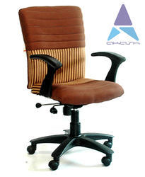 revolving chair manufacturer in nagpur pink accent target mid back from royal deluxe cloth chairs