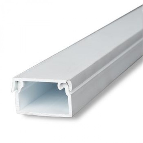 PVC White Cable Trunking Size 1  4 Inch Rs 18 meter