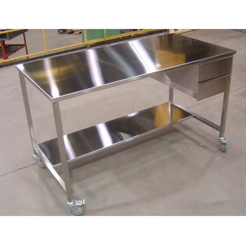kitchen work tables delta trinsic faucet 6 feet ss table ज गर ध