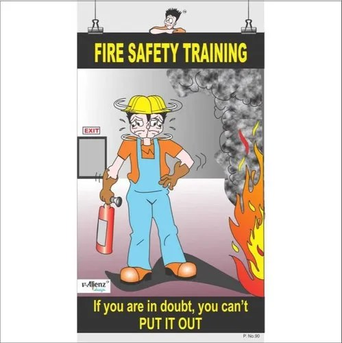 fire safety training posters