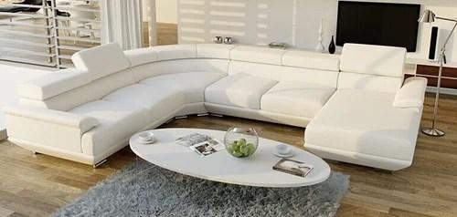 u sofa unusual sofas leather shaped set rs 1024 vimal aluminium furniture