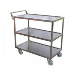 Stainless Steel Kitchen Cart Garbage Pails Trolley At Rs 12500 Piece