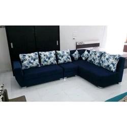 Blue Corner Sofa Set À¤• À¤° À¤¨à¤° À¤¸ À¤« À¤¸ À¤Ÿ Florence Pune Id 18892133833