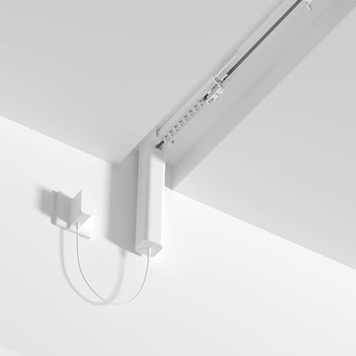 ceiling mount motorized curtain track