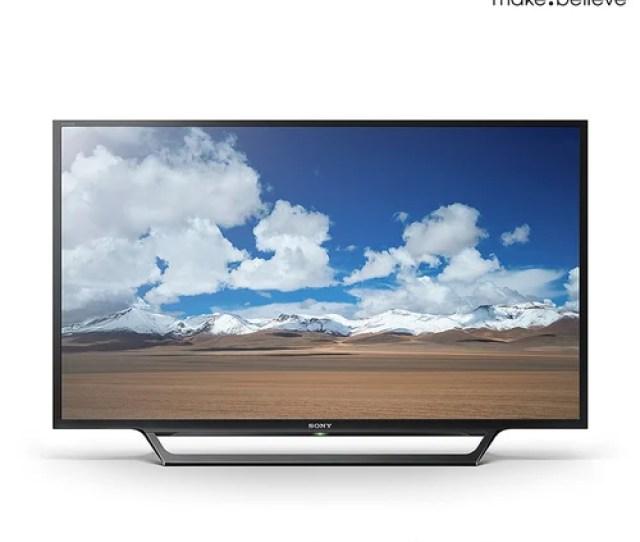 Flat Sony Klv W D  Bravia Hd Multi System Smart Wi Fi Led Tv Free