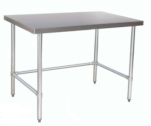kitchen work tables outdoor island kits united equipment table with granite top rs