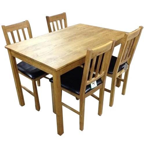 oak kitchen table sets shirts 5 x 3 feet dining set rs 35000 unit jai kumar chairs