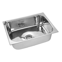 Single Bowl Stainless Kitchen Sink Wall Shelf 24x18x9 Amc Steel At Rs 1440 Piece