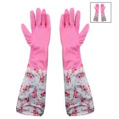 Kitchen Gloves Lg Appliance Packages Net Unisex Reusable Pvc Latex Long Elbow Length Ar 1323