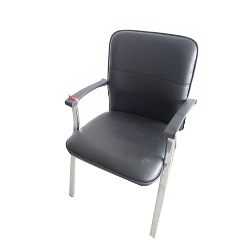 office chair not revolving customer reviews black steel non leather rs 3500 piece id
