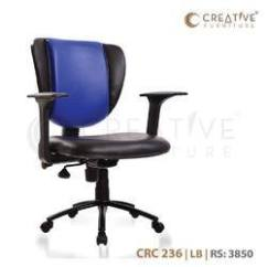 Revolving Chair In Surat Baby Wooden High Chairs Rotating Online With Price Manufacturers Brand Creative Furniture Crc236 Lb Office Adjustable Seat Height Yes