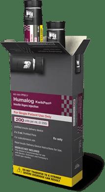 Humalog 200 IU/ml Kwikpen at Rs 1408 /box   Gandhibagh ...