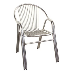 steel chair buyers in india striped accent chairs stainless ss latest price manufacturers suppliers gray 304