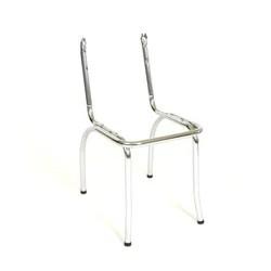 steel chair accessories roman fitness depot in faridabad च यर एक स सर ज silver ss metal frame