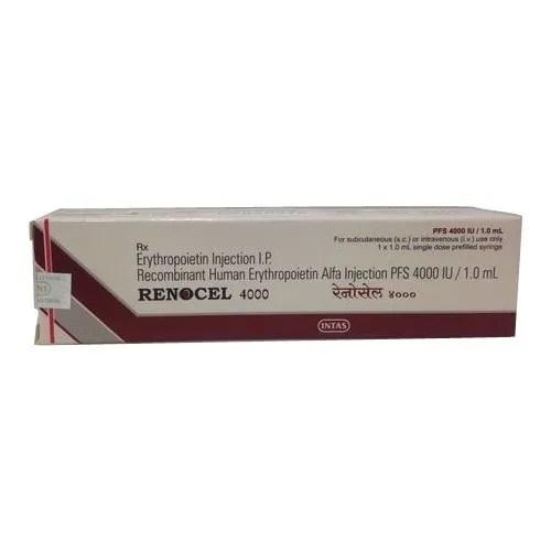 Recombinant Human Erythropoietin Injection एरिथ्रोपोइटीन ...