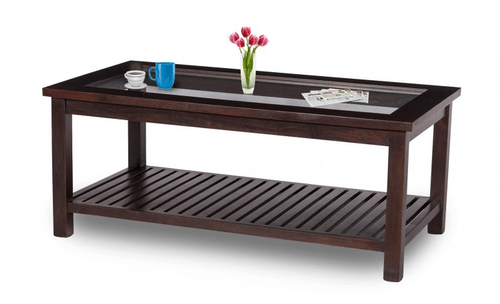 damro lsvwgcthu 001 hummer large wooden glass top coffee table
