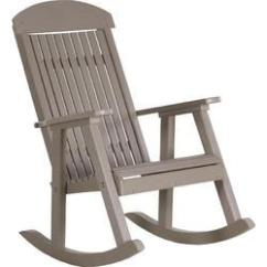 Rocking Chair With Footrest India Cup Holder At Best Price In Grey Plastic