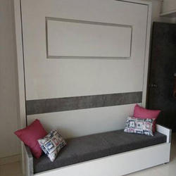 wall sofa sleeper sofas for apartments mounted bed rs 35000 piece shreeya fabtech private limited