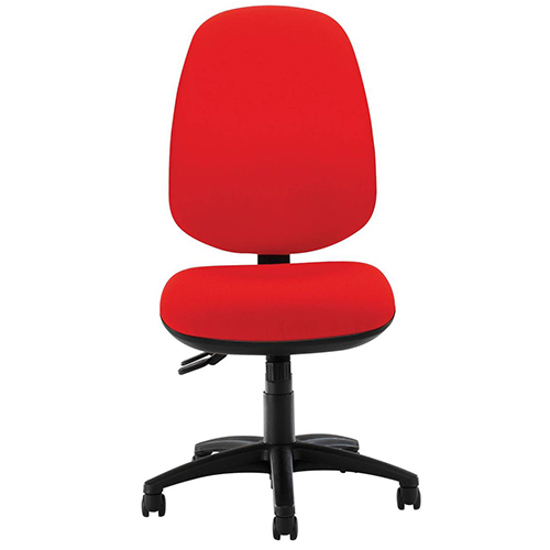 chair with wheels cane for repair red armless office rs 1800 piece vishal