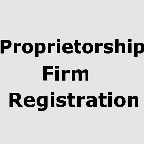 Proprietorship Company Registrations in East Of Kailash