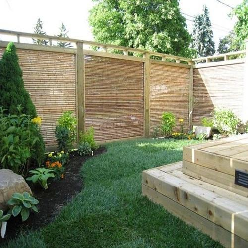 bamboo fence post manufacturer from gurgaon