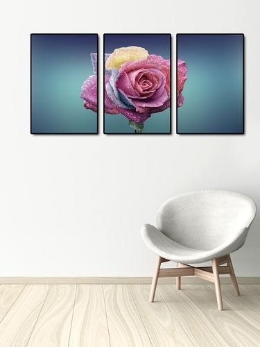 999store canvas printed pink
