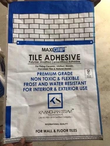 tiles adhesive maxirip
