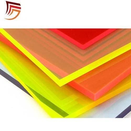 acrylic transparent color sheets