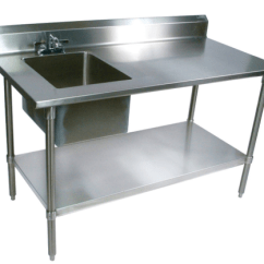 Kitchen Work Tables Labels Ss Table Rs 16000 Piece Dream Kitchens India Id