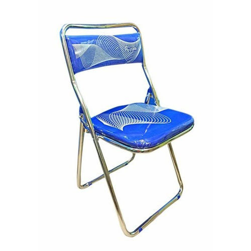 armless folding chair baby bather blue rs 675 piece cauvery enterprises id