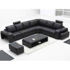 Cheap Black Leather Sectional Sofas Dark Grey Sofa Bed Set Rs 45000 Singh Wood Works