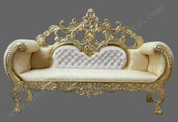 wedding sofa sets images wood white gold color rs 26000 piece bhagwati
