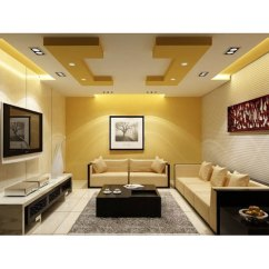 False Ceiling Designs For Living Room Grey And Pink Curtains At Rs 60 Square Feet Drop Fall