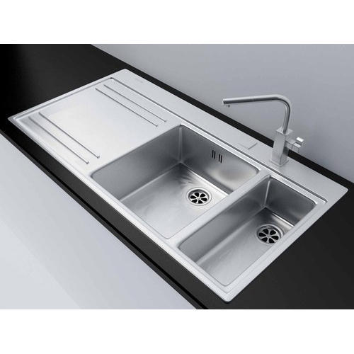 franke kitchen sinks solid wood toy double stainless steel rs 16990 piece id
