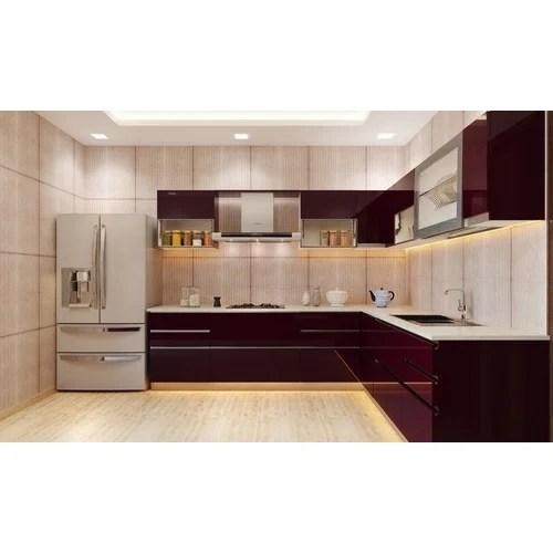 Designer Modular Kitchen At Rs 360 Square Feet  मॉडर्न