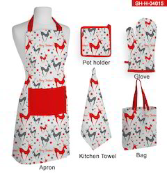 kitchen mittens undermount stainless sinks cotton printed christmas mitten set rs 365 id
