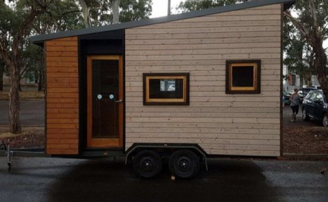 House On Wheels Mobile Home Movable Home Trailer