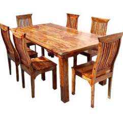 Wooden Kitchen Table Tall Trash Can Dining Rs 35000 Set Mrudula Furniture World Id