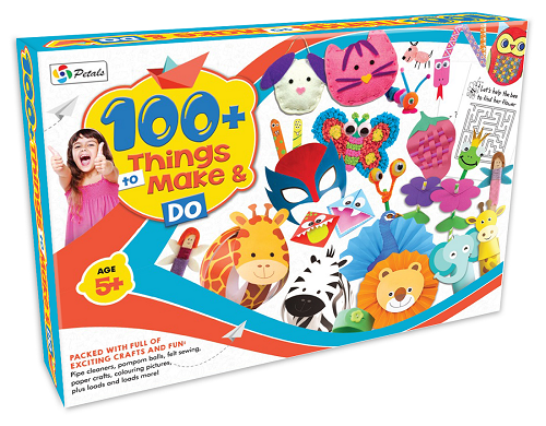 Multicolor 100 Things To Make And Do Art And Craft Kits For Girls And Boys Age5 For Decoration Rs 330 Piece Id 22370100855