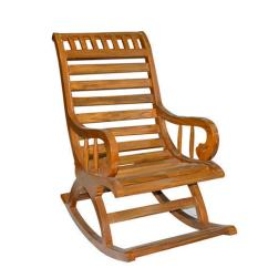 Rocking Chair Height Covers Wedding Gold Brown Teak Wood 4 5 Feet Rs 5000 Piece Id