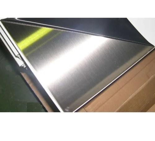 316 L Stainless Steel Matt PVC Sheet. Size: 1500 X 3000 Mm. Rs 180 /kilogram | ID: 12193401933